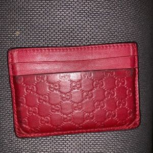 Gucci Wallet Guccissima Cardholder and wallet